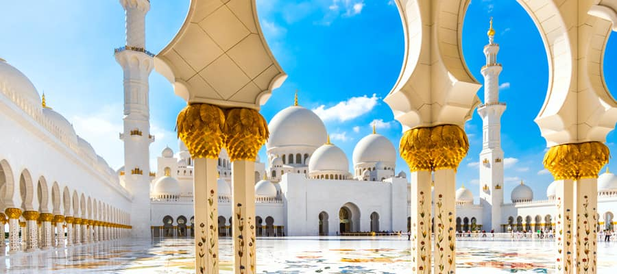 Cruises to Abu Dhabi
