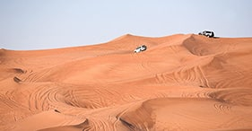 Al Khatim Desert by Off-Road Vehicle
