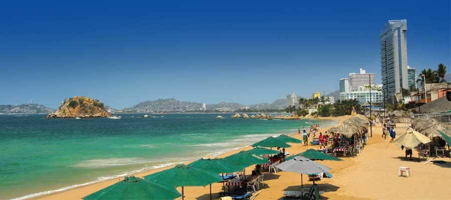Pristine Beaches on an Acapulco cruise