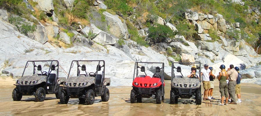 Mini Jeep Rhino Adventure Excursion on your Acapulco cruise
