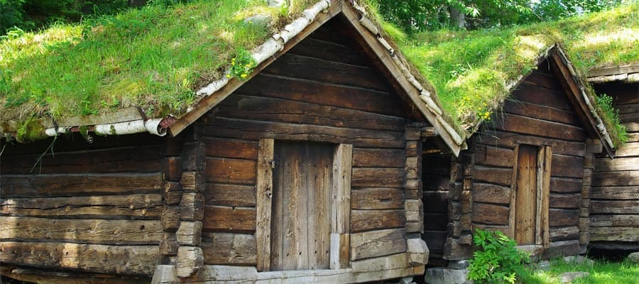 Ancient fisherman's wooden huts on your Europe cruise