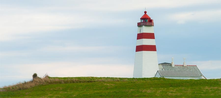 Alnes Lighthouse on your Alesund cruise
