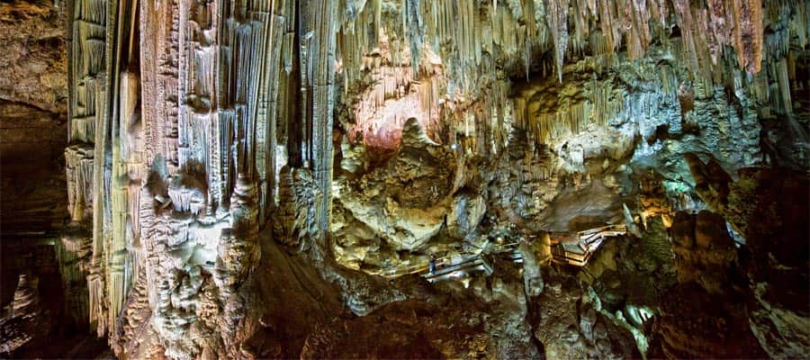 The Nerja Caves on your Europe holiday