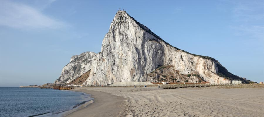 The Rock of Gibraltar is a must see when you cruise to Spain