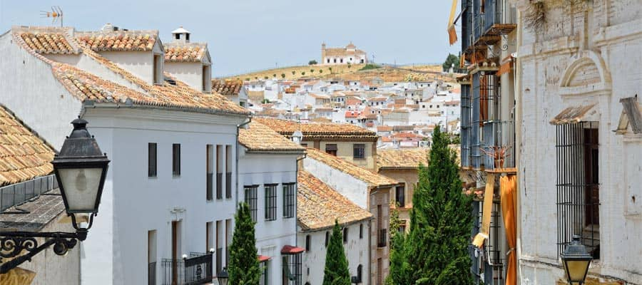 Antequera's Pueblos Bancos on your Europe cruise