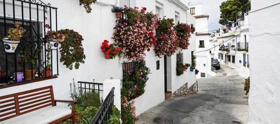 Mijas town on your Granada cruise