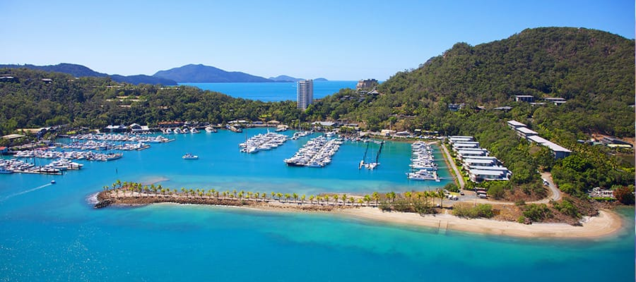 Hamilton Island on Cruises to Airlie Beach