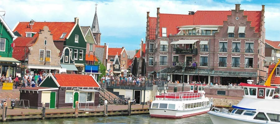 See Volendam on our Europe cruises