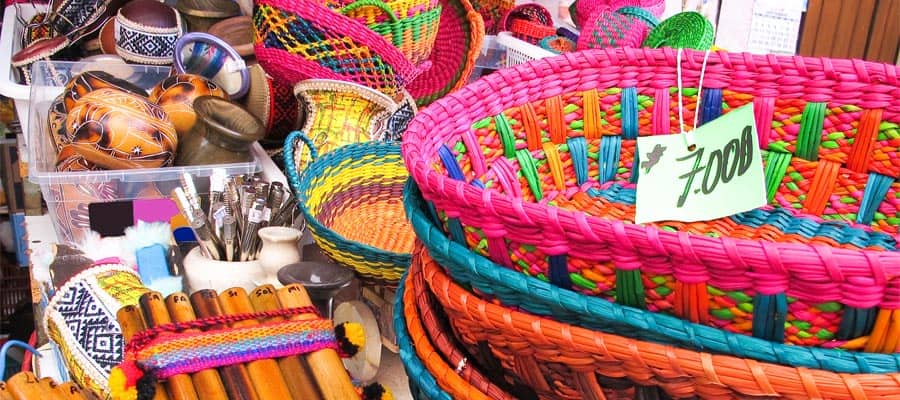 Pick up some traditional souvenirs on an Arica cruise