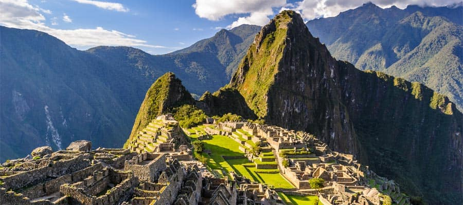 Glorious views of Machu Picchu