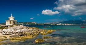 アルゴストリ、ケファロニア島、ギリシャ