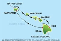 Try our award-winning Hawaii cruise