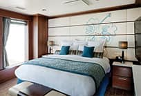 Enjoy a Hawaii cruise in a suite