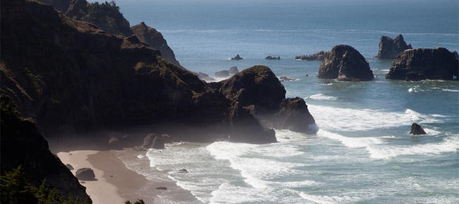 Rough Oregon Coast on your Astoria cruise