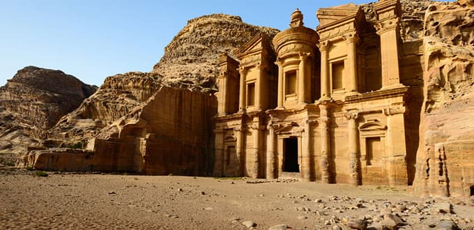 Magnificent Petra - the ancient city carved out of stone