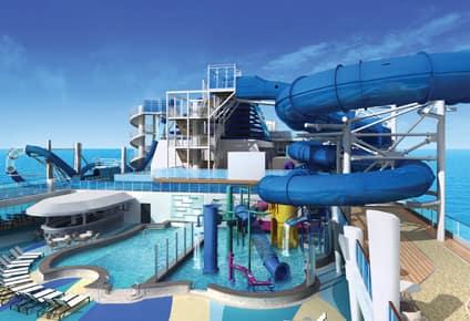 Aqua Park and Pool Deck
