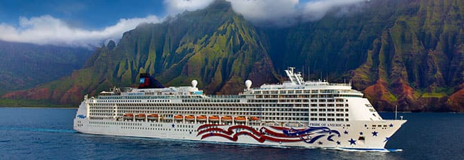 Hawaii cruise on Pride of America