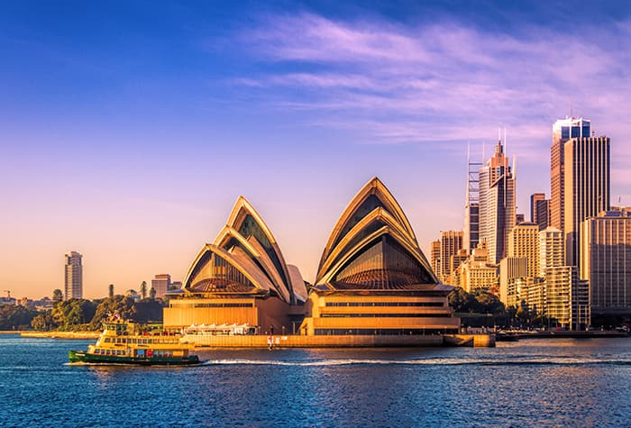 View Select Australia Cruises