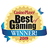 Best of Gaming Winner 18 Years in a Row – Casino Player Magazine