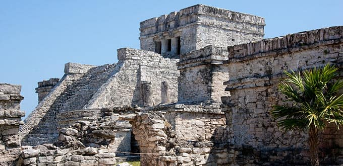 Witness the mystique of the Mayan ruins.