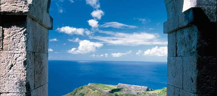 St. Kitts Arch on your Caribbean cruise