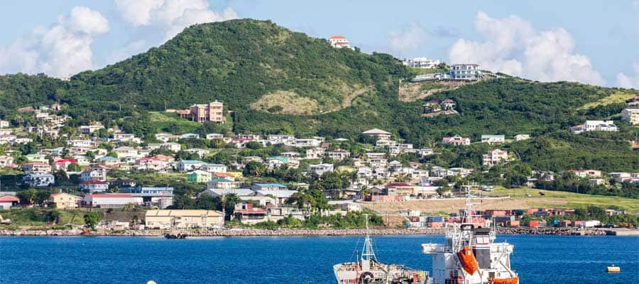 Beautiful views in St. Kitts