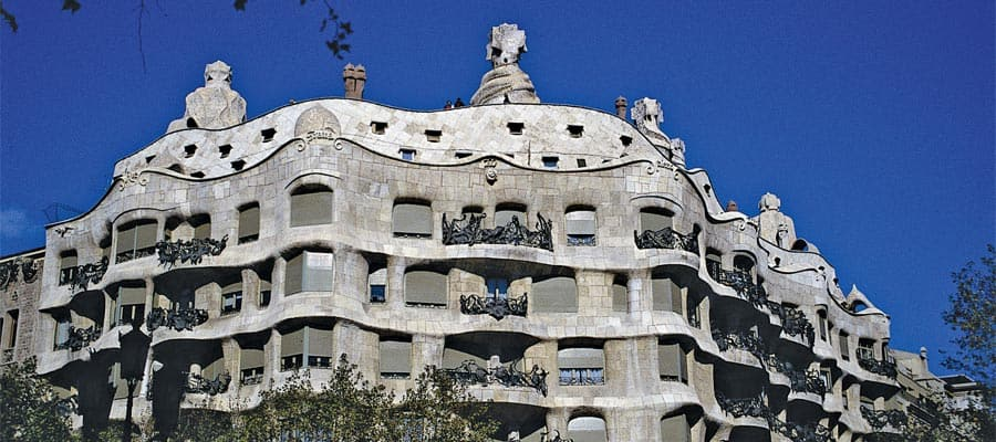 La Pedrera on your Europe cruise