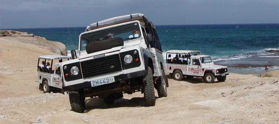 4x4 Adventure & Harrison's Cave Expedition on your Barbados cruise