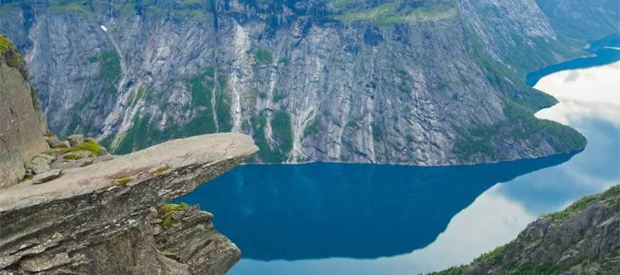 Visita Trolltunga en tu crucero a Noruega