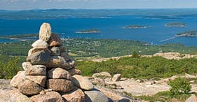 Bar Harbor und Cadillac Mountain