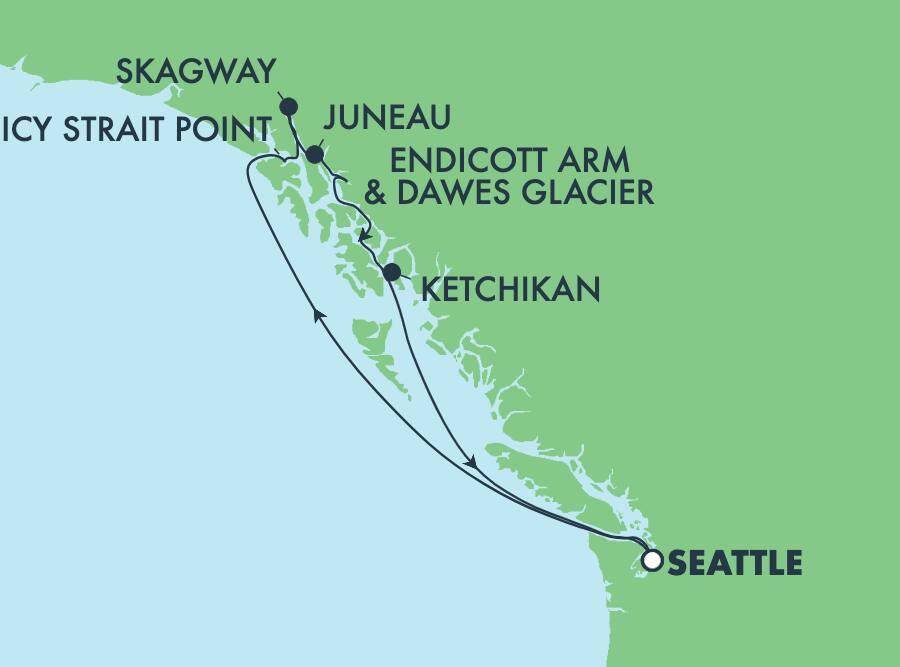 Paquete terrestre en Alaska - Skagway