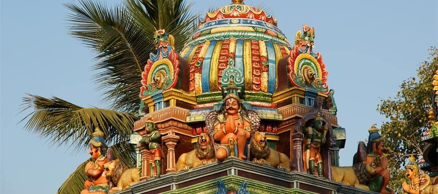 Statues traditionnelles lors de votre croisière à Mumbai