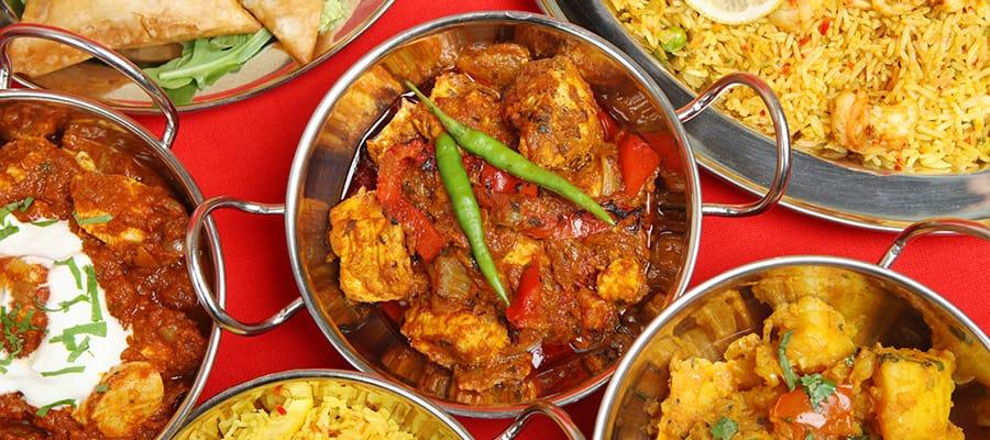 Un curry indien lors de votre croisière à Mumbai