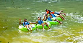 Rainforest River Tubing