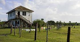 Mango Creek und unabhängiges Dorfleben