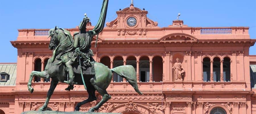 La Maison rose au cours de votre croisière à Buenos Aires