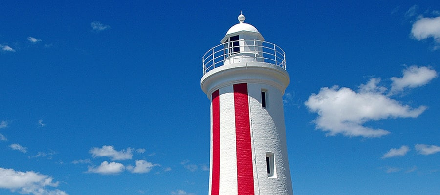 Mersey Bluff Lighthouse on cruises to Burnie