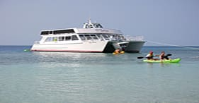 Barrier Reef & Snorkel Island Beach Break