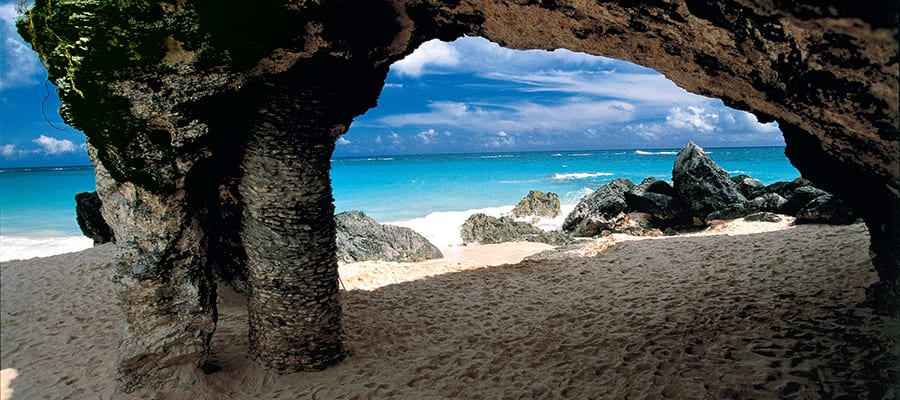 See the rock arches on your next cruise to Bermuda