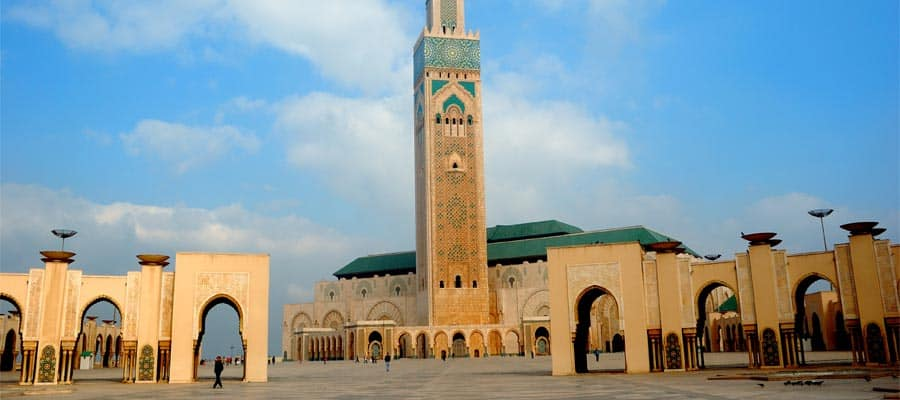 Hassan Mosque on your Europe cruise