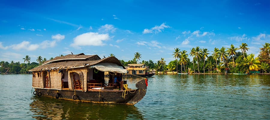 Casa flotante en un crucero a Cochin