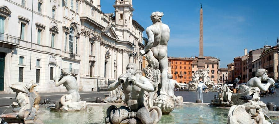 Piazza Navona on your Rome cruise