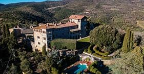Luxury Experience with Castle Monte Vibiano's Owners