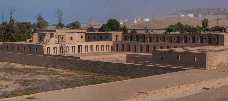 Pachacamac ruins on a Lima cruise