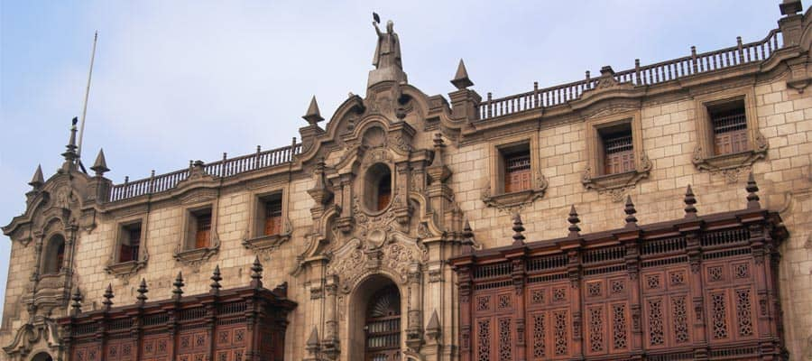 The Archbishop Palace on your Lima cruise