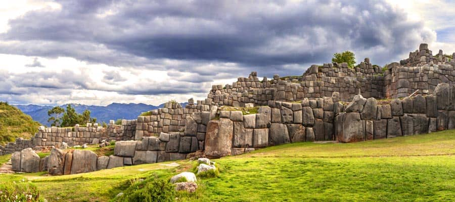 Walls of Sacsayhuaman Fortress