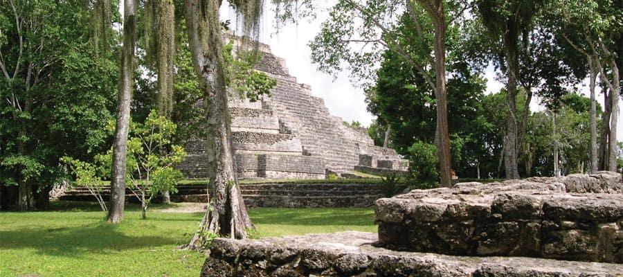 Ruines mayas de Chacchoben, à Costa Maya