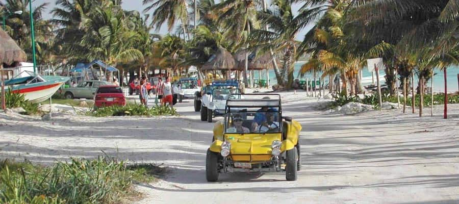 Dune Buggy in Costa Maya, Mexico