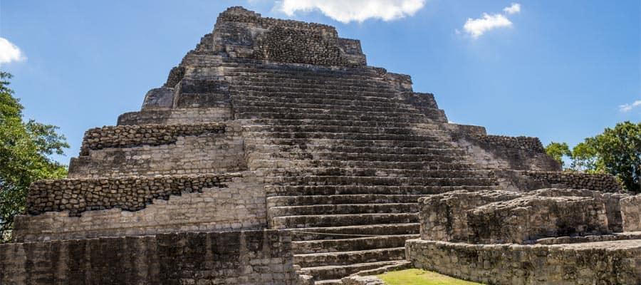 Visita las antiguas ruinas mayas durante un crucero por el Caribe