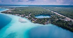 River Tubing at 7 Color Lagoon